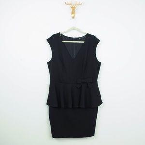 Fashion to Figure Peplum Dress Bow